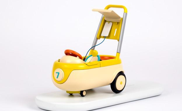 תעודת בגרות - רכב עירוי לילדים מאושפזים בעיצוב תומר פדאל, שנקר (צילום: אחיקם בן יוסף)