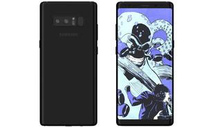 הדמיה של Galaxy Note 8 (הדמיה: Ghostek, BGR.com)