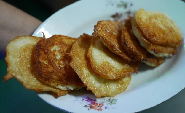 לביבות תפוחי אדמה, יורש (צילום: גיל גוטקין, אוכל טוב)