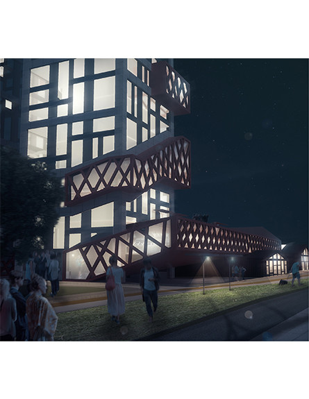 תערוכת בוגרים חלק ב – חיים בלב העשייה -לירון שיפלדרין, ארכיטקטורה  (צילום: יחסי ציבור)