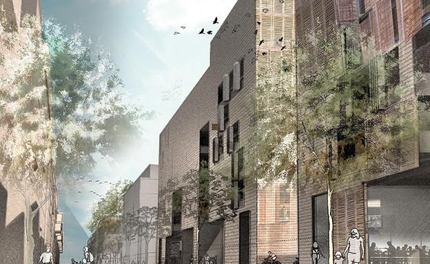 תערוכת בוגרים חלק ב – עיר מדבר-ניצן שטרן, ארכיטקטורה ויצו חיפה - מ (צילום: יחסי ציבור)