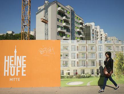 אתר בנייה במרכז ברלין