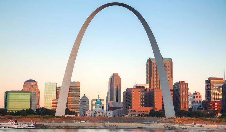 הקשת של סיינט לואיס, ארצות הברית (צילום: photo.ua, Shutterstock)