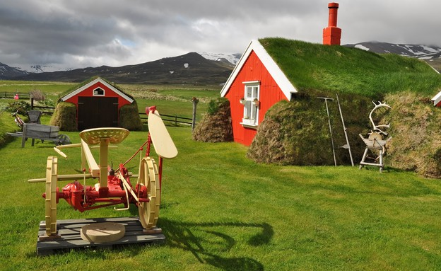 כפר באיסלנד (צילום: Pavel Svoboda, shutterstock)