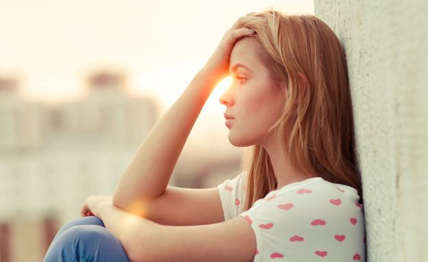 נערה עצובה (צילום: Aleshyn_Andrei, Shutterstock, מעריב לנוער)