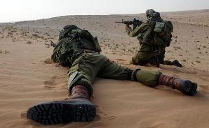 """חייל אילוסטרציה (צילום: דובר צה""""ל )"""