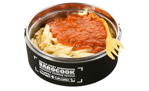 רשת למטייל- ערכת בישול משפחתית Barocook  ללא צורך באש גז או חשמל