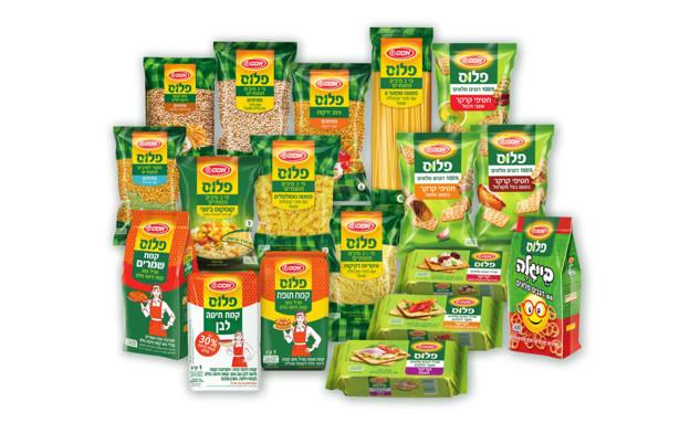 מוצרים עשירים בסיבים תזונתיים (צילום: יחסי ציבור, אסם)