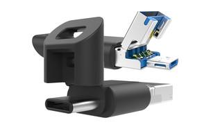 התקן דיסק-און-קי שתומך בכל סוגי ה-USB (צילום:  יחסי ציבור )