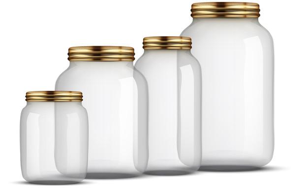 צנצנות (צילום: VitaminCo, Shutterstock)