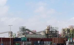 המפעל בדרום (צילום: עופר ארנון, המשרד להגנת הסביבה)