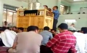 צפו בתפילות הקהילה היהודית באירן