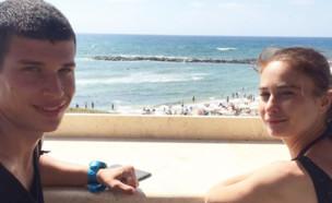 נועם דובינצ'יק ולוסי דובינצ'יק, יולי 2017 (צילום: instagram)