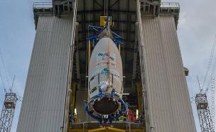 שיגור ונוס - הלוויין הישראלי הראשון לצורכי סביבה (צילום: חדשות 2)