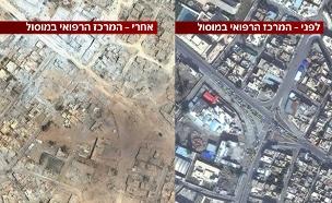 לפני ואחרי (צילום: imagesat intl)