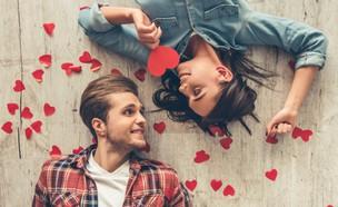 זוג מאוהב (צילום: George Rudy, Shutterstock)