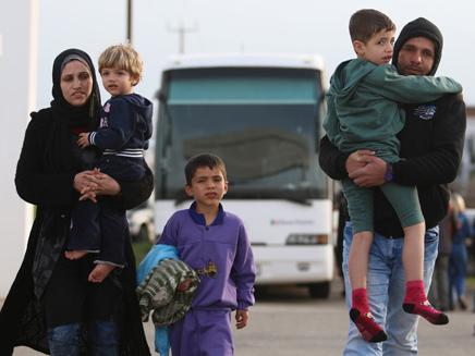 פליטים באירופה (צילום: רויטרס)
