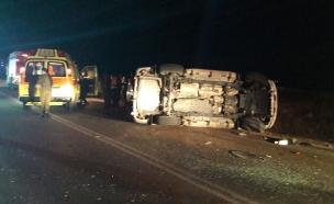 """תאונה קשה בדרום הארץ, ארכיון (צילום: תיעוד מבצעי מד""""א)"""