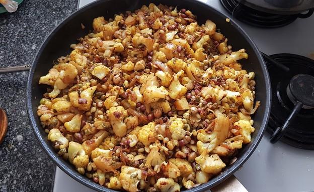כרובית ונבטוטים (צילום: דנה בר-אל שוורץ, אוכל טוב)