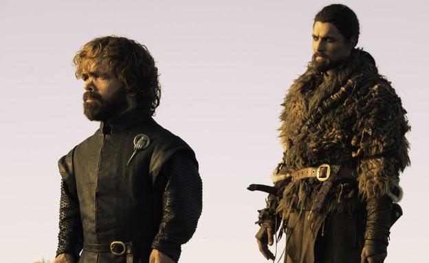 """פיטר דינקלג' (טיריון לאניסטר) ב""""משחקי הכס"""" (עונה 7 (צילום: HBO, באדיבות yes)"""