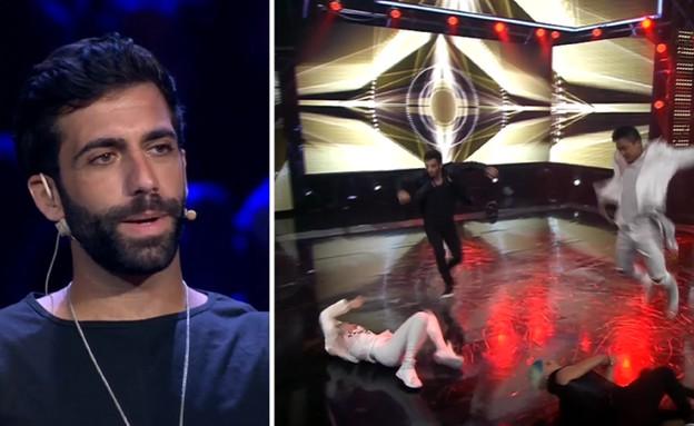 אליעד נחום מגיע ל״רק רוצים לרקוד״  (צילום: רק רוצים לרקוד, קשת)