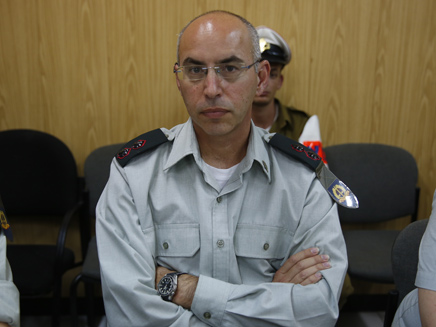 התובע הצבאי נדב וייסמן (ארכיון)