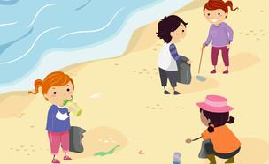 ילדים מתנדבים (איור: Lorelyn Medina, Shutterstock)