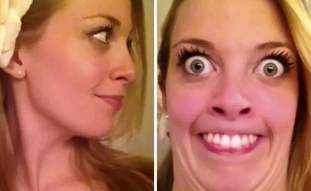 בנות יפות פרצופים מכוערים (צילום: boredpanda, מעריב לנוער)