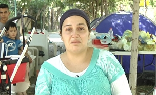 באוהל באמצע אוגוסט: צפו בריאיון המלא (צילום: חדשות 2)