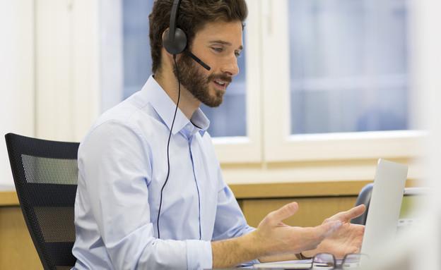 איש מכירות (אילוסטרציה: LDprod, Shutterstock)