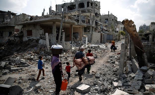 """עזה Photo: האו""""ם: """"בעוד 3 שנים עזה תהיה בלתי ראויה למחייה"""""""