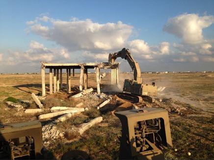 הרס בית שהפך למעוז חמאס
