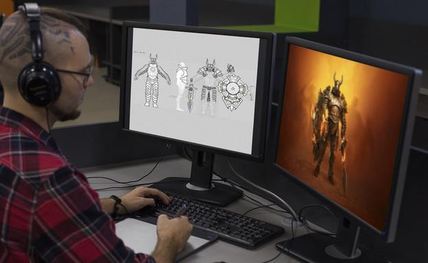 עיצוב משחקים בחברת פלאריום (צילום:  יחסי ציבור )