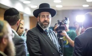 הרב הראשי לישראל ונשיא מועצת הרבנות הראשית, דוד לאו (צילום: אמיל סלמן, TheMarker)
