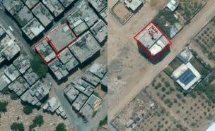 מבנים אזרחיים המשמשים לתשתית טרור (צילום: דובר צהל)