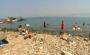 פרויקט מגורים לעשירים בלבד בטבריה (צילום: חדשות 2)