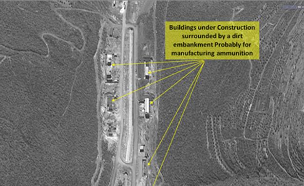 תמונות המפעל בסוריה (צילום: imageSat)
