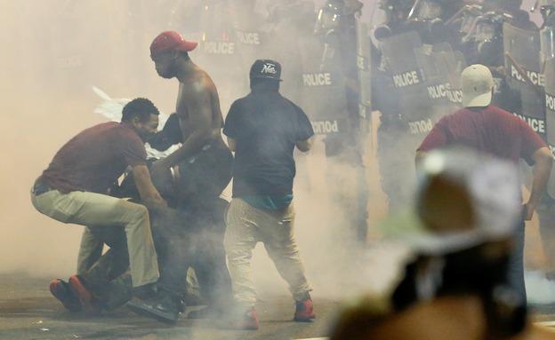 המהומות בשרלוטסוויל, השבוע (צילום: רויטרס)