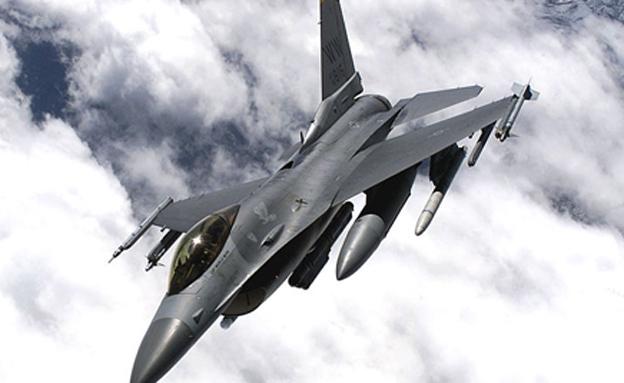 F-16  של חיל האוויר האמריקני (צילום: חיל האוויר האמריקני)
