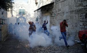 הפרות סדר במזרח ירושלים (צילום: רויטרס)