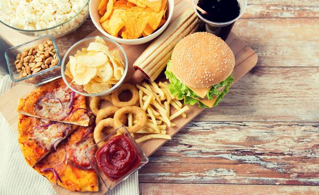 מזון מהיר (צילום: Syda Productions, Shutterstock)