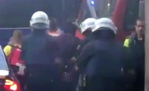 פיגוע הדירסה בברצלונה (צילום: פיסגת המעודכנים)