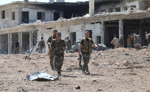 חילוקי אש סביב הלחימה בסוריה (צילום: רויטרס)