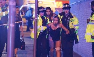 22 הרוגים באולם ההופעות במנצ'סטר (צילום: CNN)