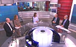 צפו בדיון באולפן פגוש את העיתונות (צילום: חדשות 2)