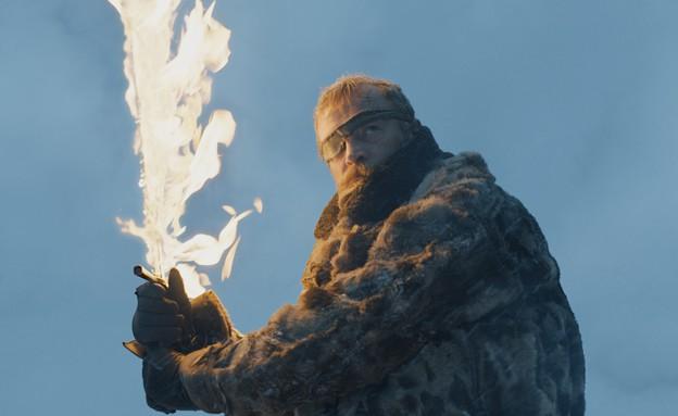"""בריק דונדריון ב""""משחקי הכס"""" (עונה 7 פרק 6) (צילום: HBO, באדיבות yes)"""