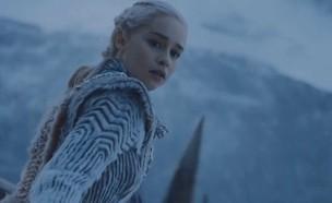 """אמיליה קלארק (דאינריז טארגאריין) ב""""משחקי הכס"""" (צילום: HBO, באדיבות yes)"""