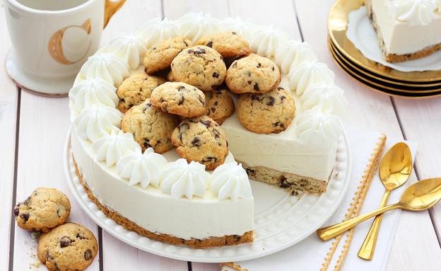 עוגת גלידה ושוקולד צ'יפס (צילום: ענבל לביא, אוכל טוב)