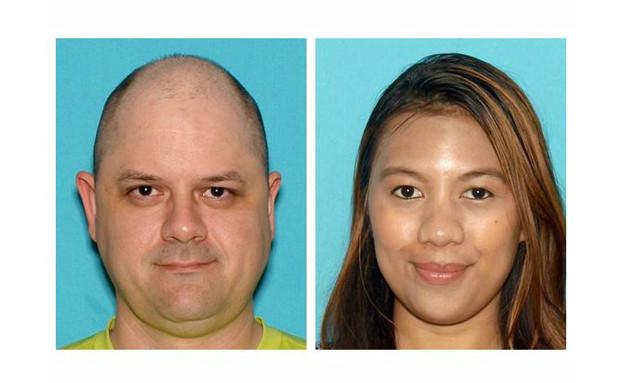 רומלה וקימי ולסקז, שגנבו סחורה מאתר אינטרנט (צילום: Brick Township Police Department)