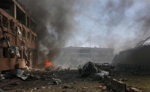 זירת פיגוע בקאבול, ארכיון (צילום: רויטרס)